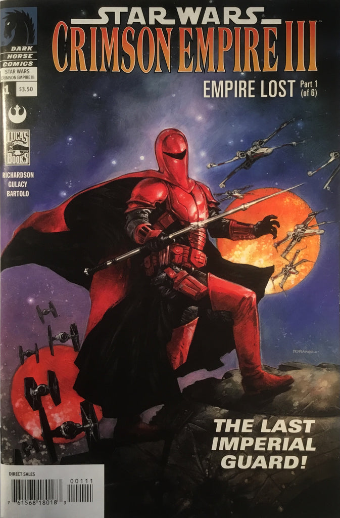 STAR WARS CRIMSON EMPIRE III : EMPIRE LOST # 1