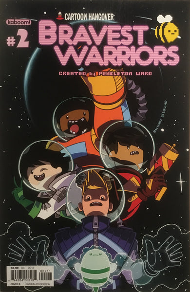BRAVEST WARRIORS # 02 - Comics 'R' Us