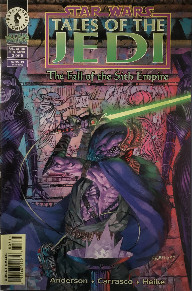 STAR WARS TALES OF THE JEDI : THE FALL OF THE SITH EMPIRE # 3