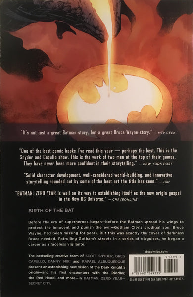BATMAN (NEW 52) VOL 4 ZERO YEAR SECRET CITY GRAPHIC NOVEL - Comics 'R' Us