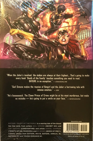 BATGIRL (NEW 52) VOL 3 DEATH OF THE FAMILY HARDCOVER GRAPHIC NOVEL - Comics 'R' Us