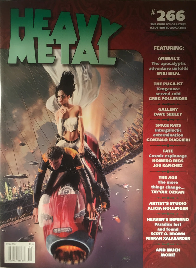 HEAVY METAL # 266