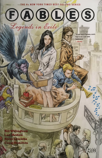 FABLES VOL 1 GRAPHIC NOVEL LEGENDS IN EXILE - Comics 'R' Us