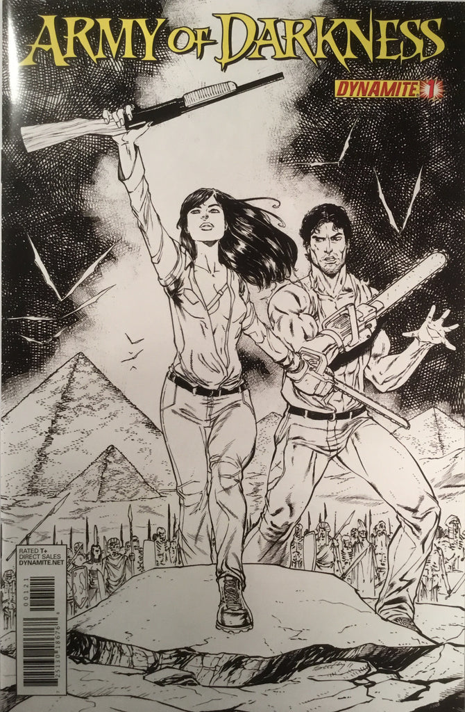 ARMY OF DARKNESS VOL. 3 # 1 SEELEY SKETCH COVER (1:10 VARIANT) - Comics 'R' Us