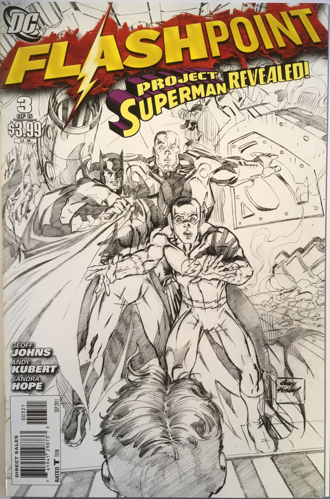 FLASHPOINT # 3 SKETCH COVER (1:25 VARIANT) - Comics 'R' Us