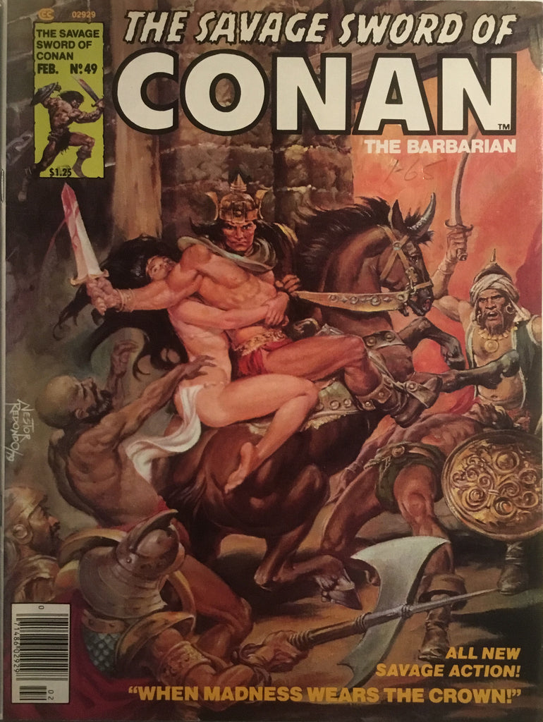 THE SAVAGE SWORD OF CONAN # 49