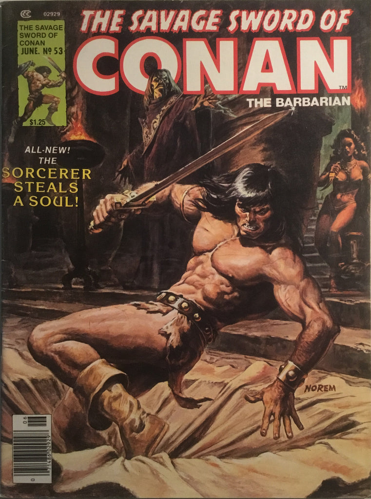 THE SAVAGE SWORD OF CONAN # 53