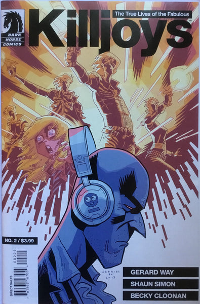 KILLJOYS (GERARD WAY) # 2 GABRIEL BA COVER (1:20 VARIANT) - Comics 'R' Us