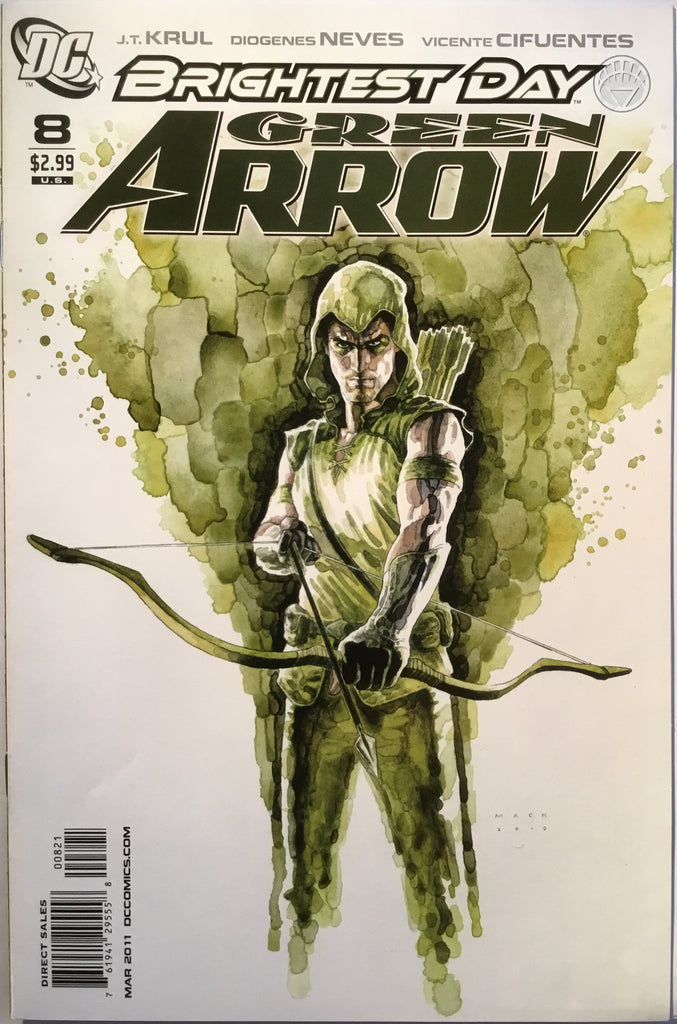 GREEN ARROW # 8 (2011) 1:10 VARIANT - Comics 'R' Us