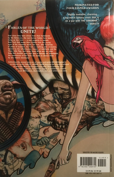 FABLES VOL 02 ANIMAL FARM GRAPHIC NOVEL