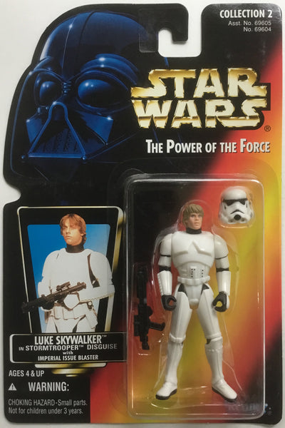 STAR WARS LUKE SKYWALKER IN STORMTROOPER DISGUISE ACTION FIGURE 1996