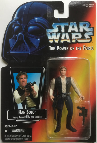 STAR WARS HAN SOLO ACTION FIGURE 1995