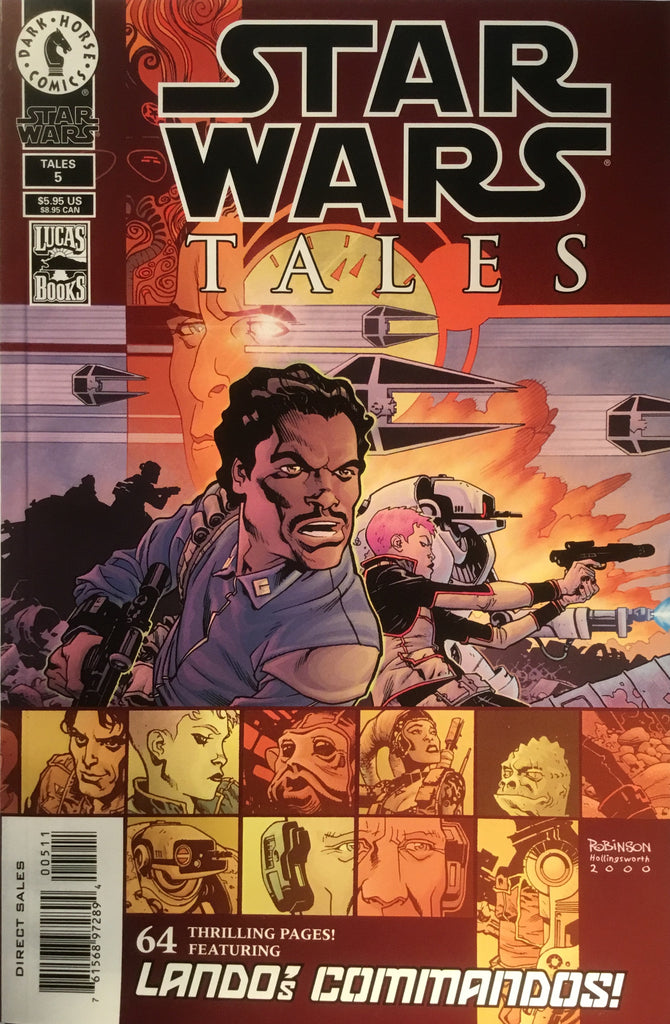 STAR WARS TALES # 5 ART COVER