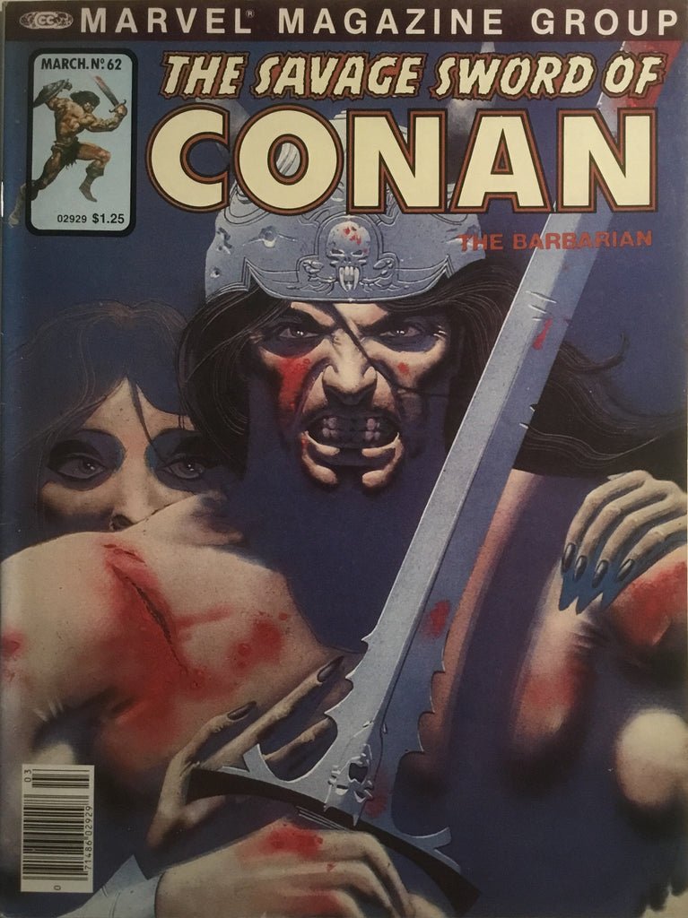 THE SAVAGE SWORD OF CONAN # 62