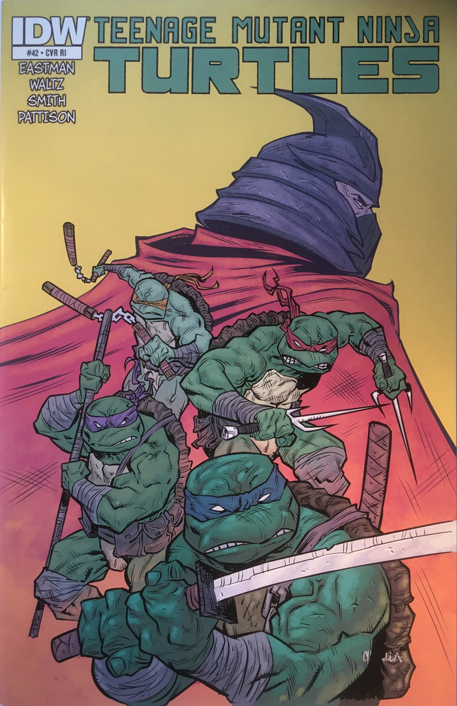 TMNT TEENAGE MUTANT NINJA TURTLES # 42 (1:10 VARIANT)