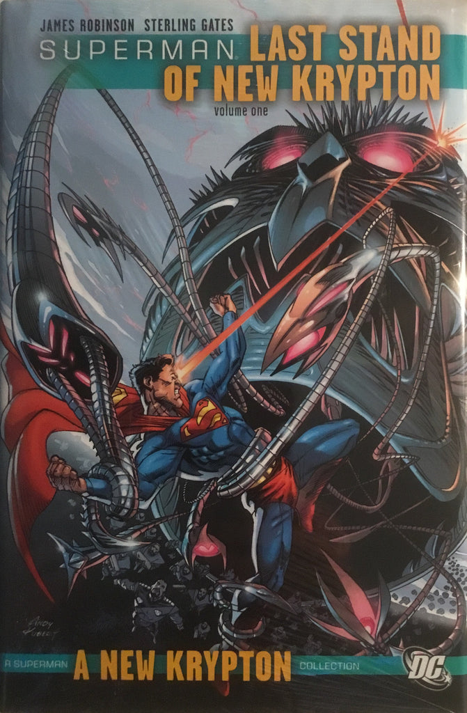 SUPERMAN LAST STAND OF NEW KRYPTON VOL 1 HARDCOVER GRAPHIC NOVEL