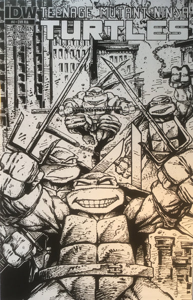TMNT TEENAGE MUTANT NINJA TURTLES # 04 (1:10 VARIANT)