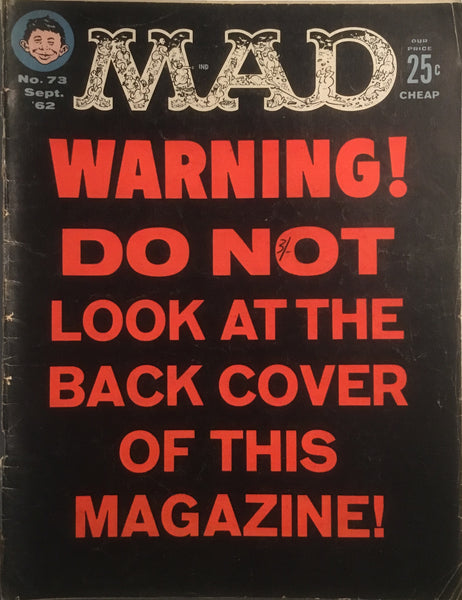 MAD MAGAZINE (USA) # 73