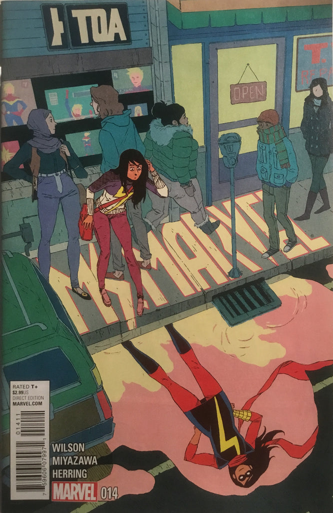 MS MARVEL (2014-2015) # 14