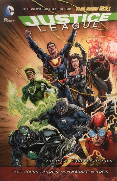 JUSTICE LEAGUE (THE NEW 52) VOL 5 FOREVER HEROES GRAPHIC NOVEL