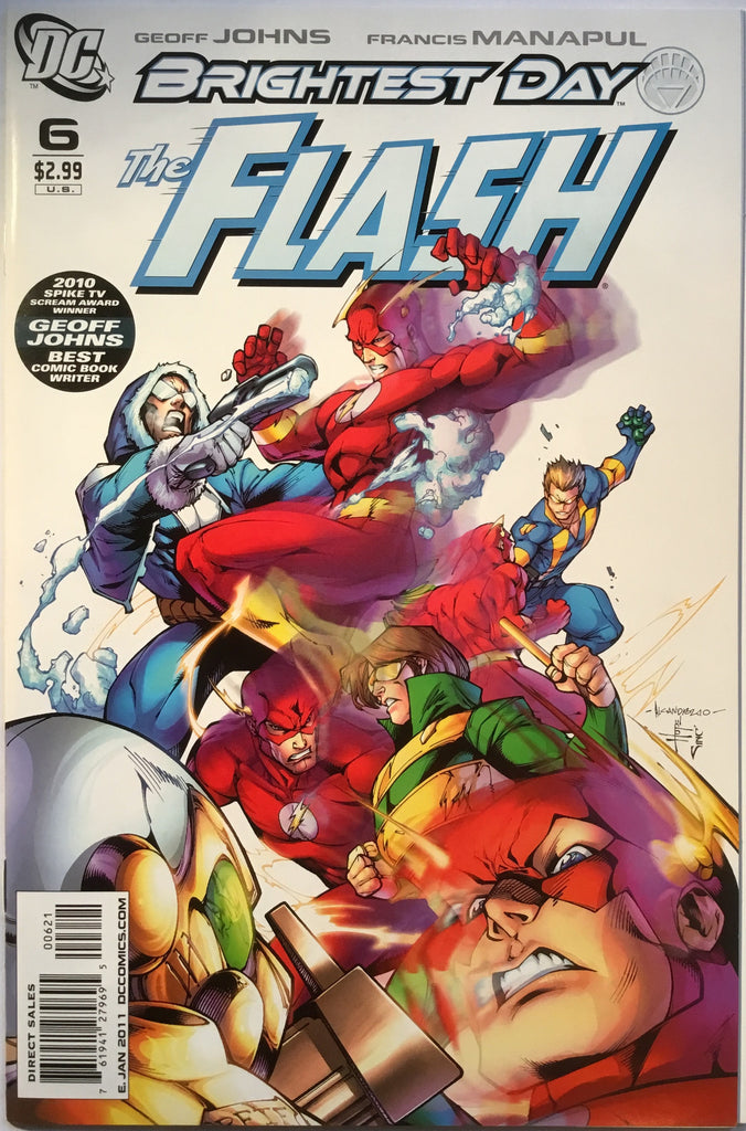 FLASH # 6 (1:10 VARIANT) 2010 - Comics 'R' Us