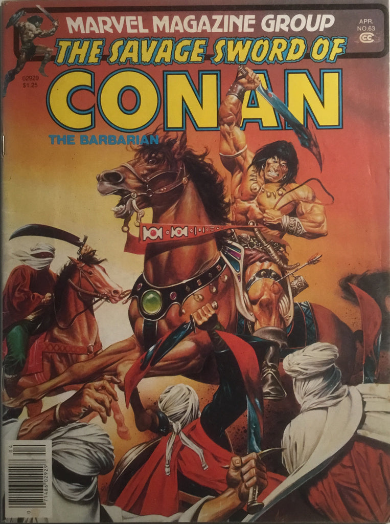 THE SAVAGE SWORD OF CONAN # 63
