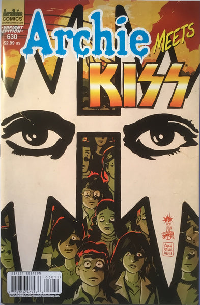 ARCHIE MEETS KISS (SET OF 4) VARIANT COVERS - Comics 'R' Us