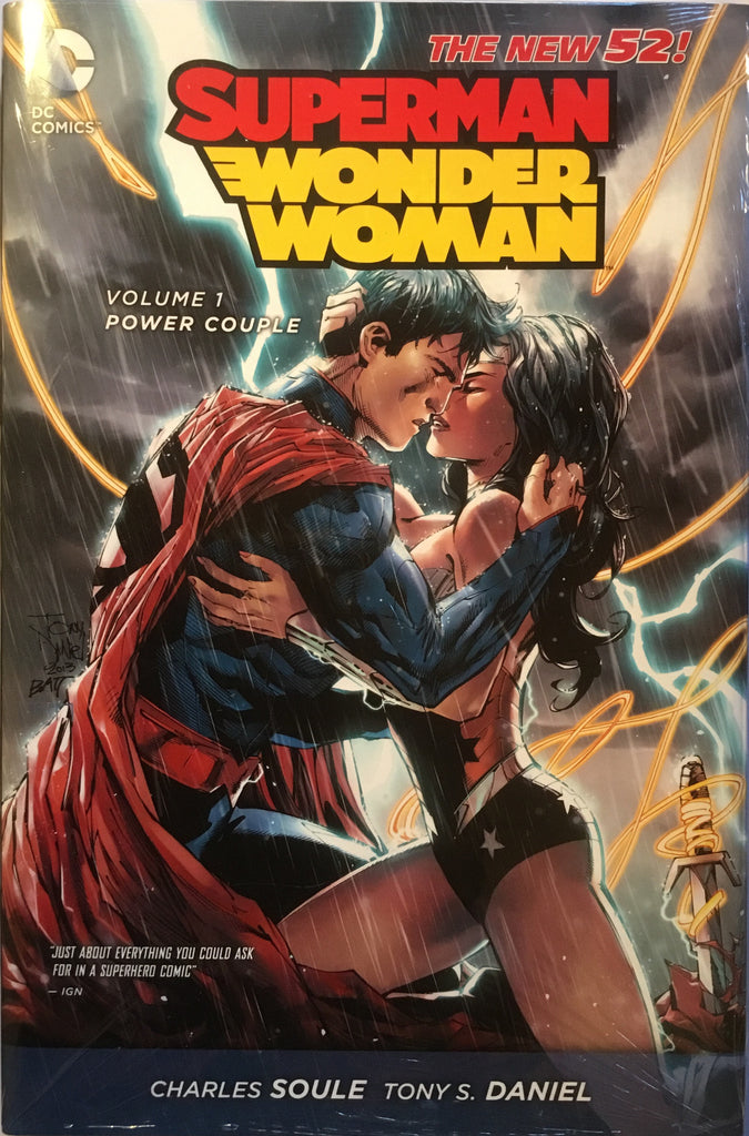 SUPERMAN/WONDER WOMAN (NEW 52) VOL 1 POWER COUPLE HARDCOVER GRAPHIC NOVEL