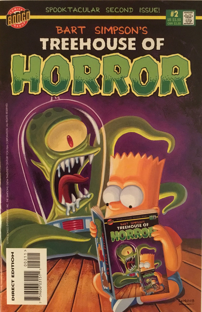 SIMPSONS TREEHOUSE OF HORROR # 2