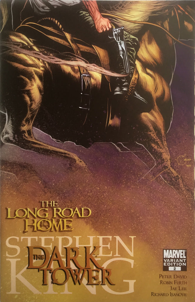 DARK TOWER (STEPHEN KING) THE LONG ROAD HOME # 2 QUESADA COVER (1:25 VARIANT)