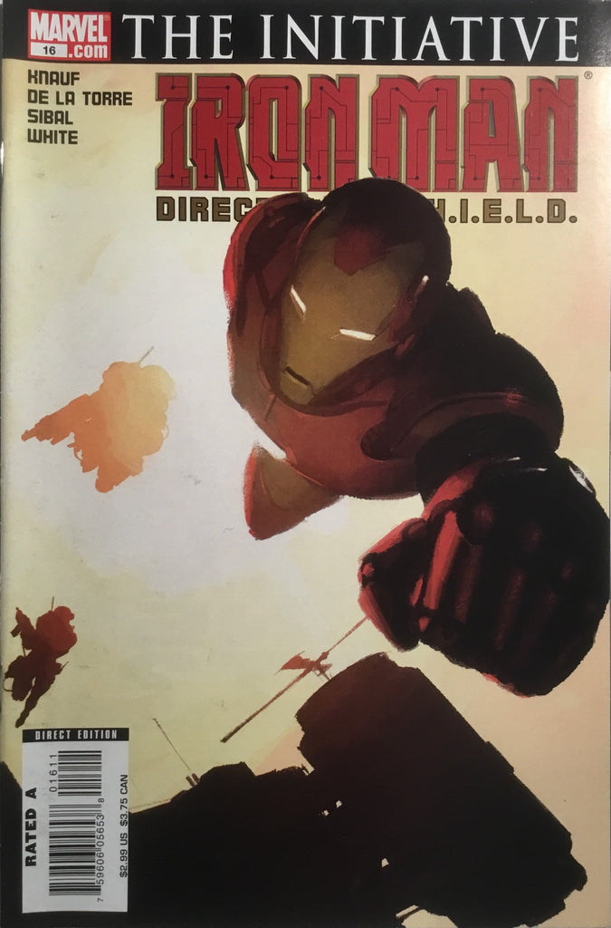 INVINCIBLE IRON MAN (2005-2009) # 16
