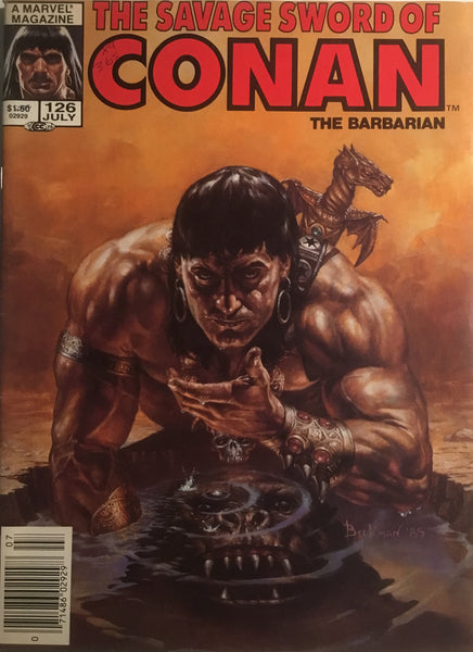 THE SAVAGE SWORD OF CONAN #126