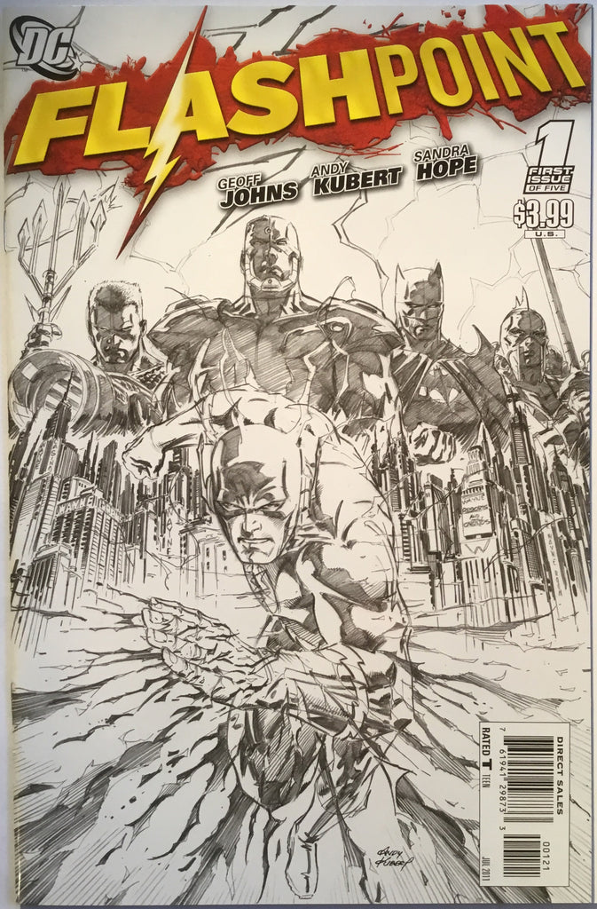 FLASHPOINT # 1 SKETCH COVER (1:25 VARIANT) - Comics 'R' Us