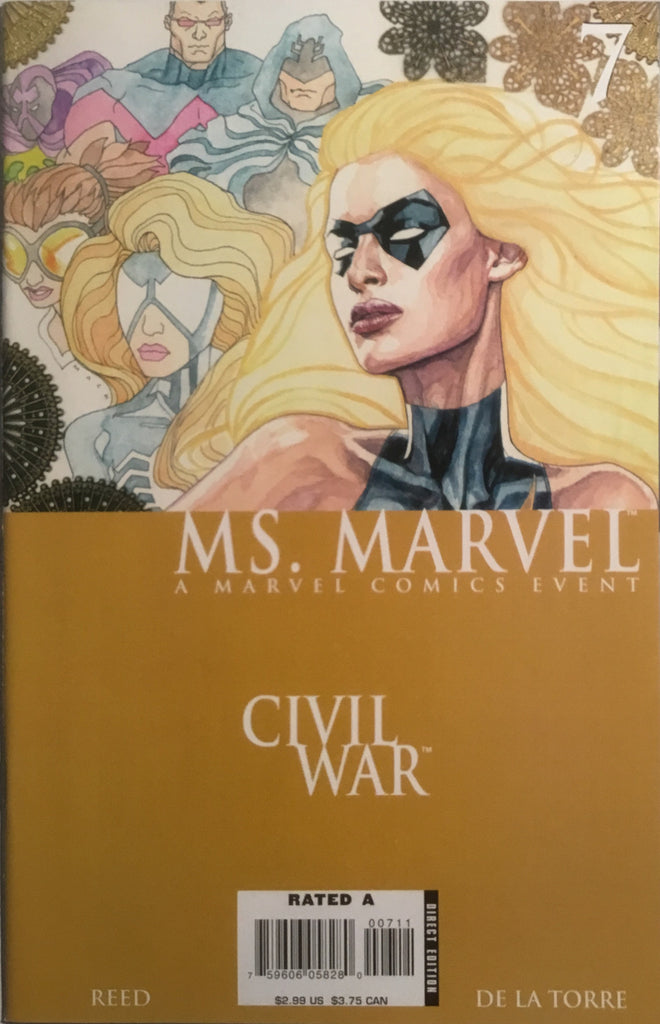 MS MARVEL (2006-2010) # 07