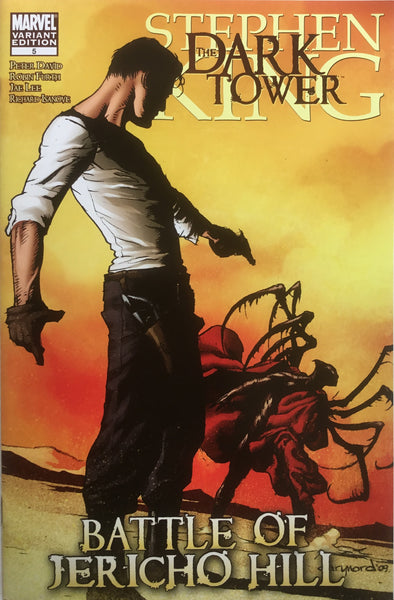 DARK TOWER (STEPHEN KING) BATTLE OF JERICHO HILL # 5 NORD COVER (1:25 VARIANT)