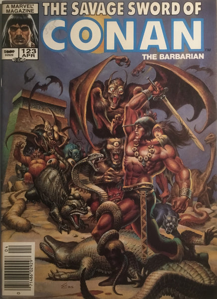 THE SAVAGE SWORD OF CONAN #123