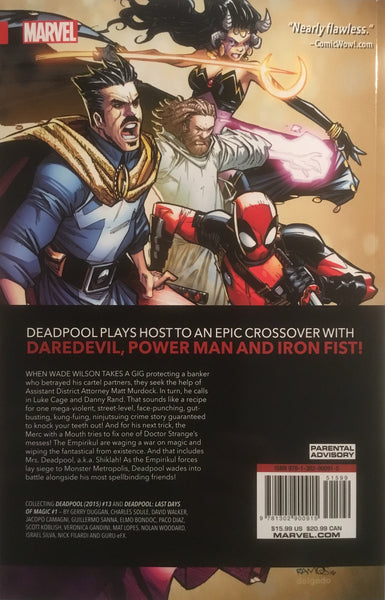 DEADPOOL WORLD'S GREATEST VOL 04 TEMPORARY INSANITATION GRAPHIC NOVEL