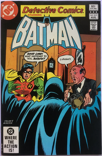 DETECTIVE COMICS starring BATMAN # 517 - Comics 'R' Us