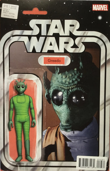 STAR WARS (MARVEL) #12 GREEDO ACTION FIGURE VARIANT COVER