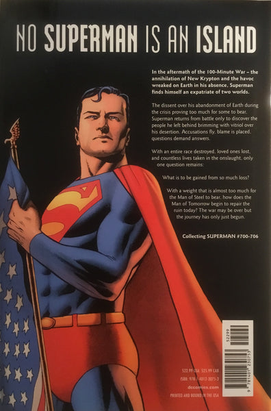 SUPERMAN GROUNDED VOL 1 HARDCOVER GRAPHIC NOVEL