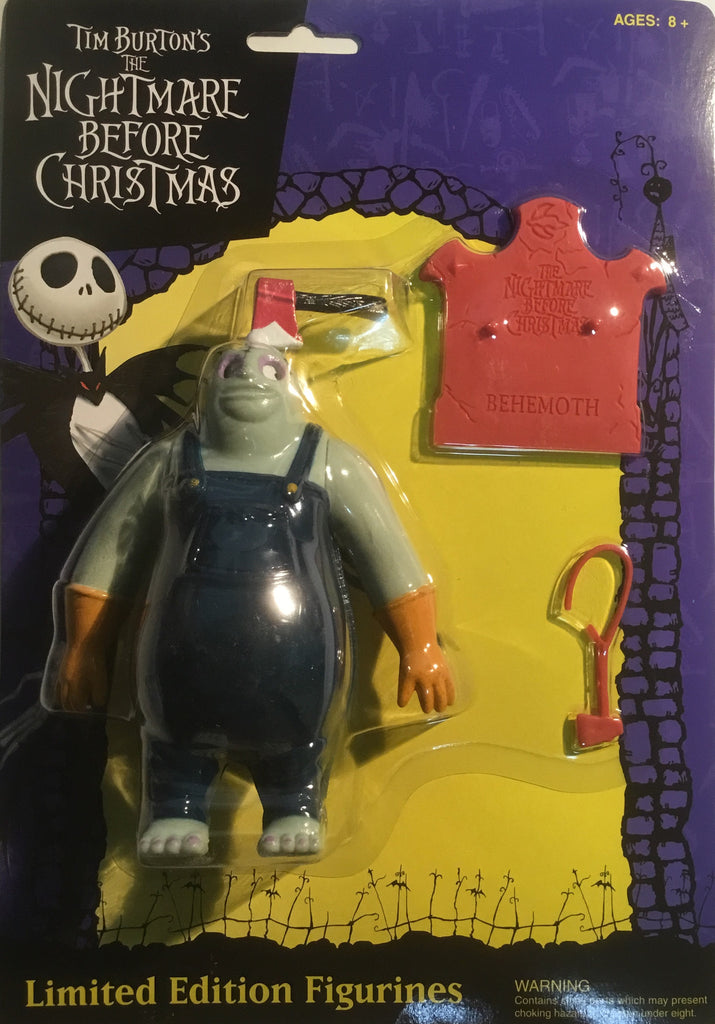 THE NIGHTMARE BEFORE CHRISTMAS BEHEMOTH FIGURE