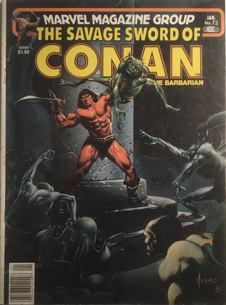 THE SAVAGE SWORD OF CONAN # 72