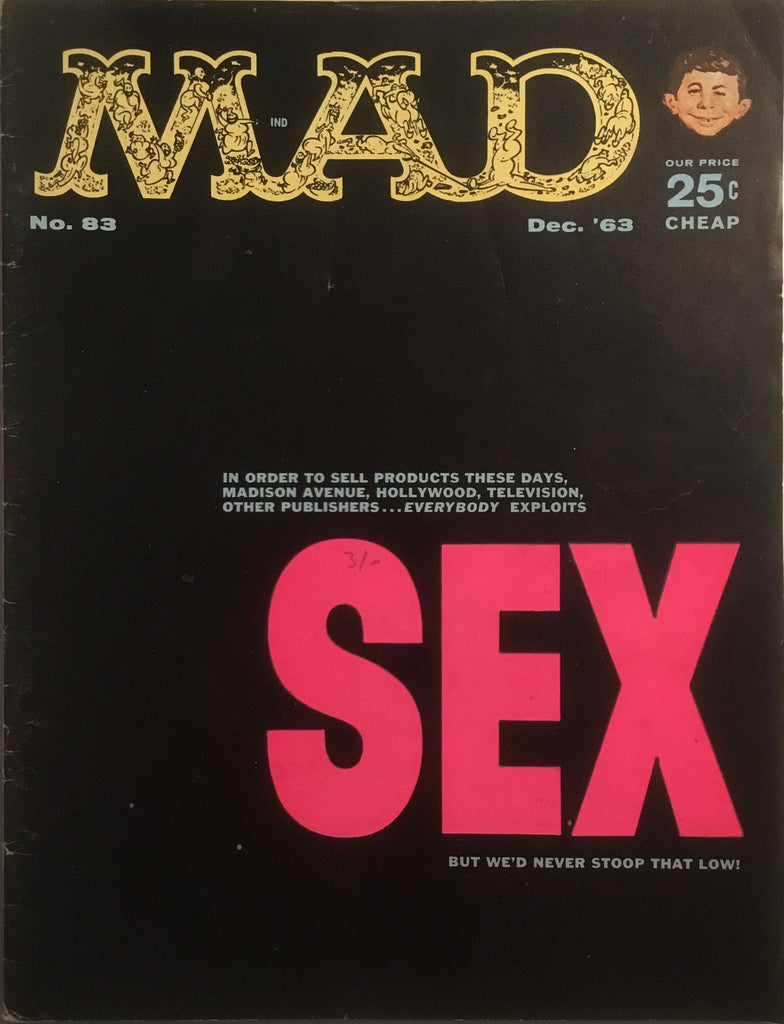 MAD MAGAZINE (USA) # 83