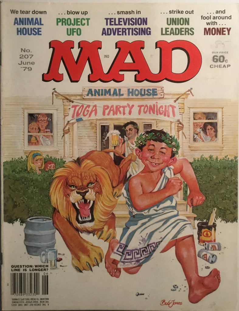 MAD MAGAZINE (USA) #207