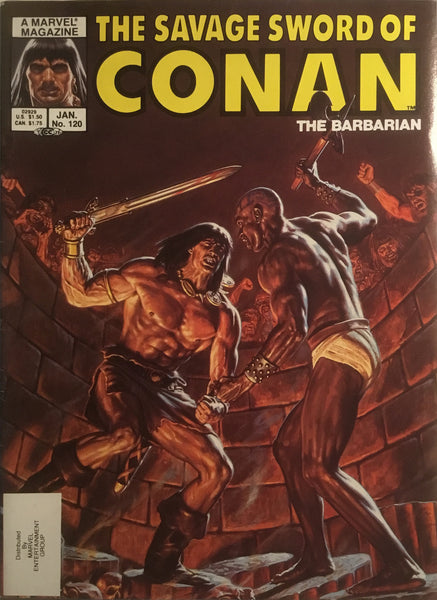 THE SAVAGE SWORD OF CONAN #120
