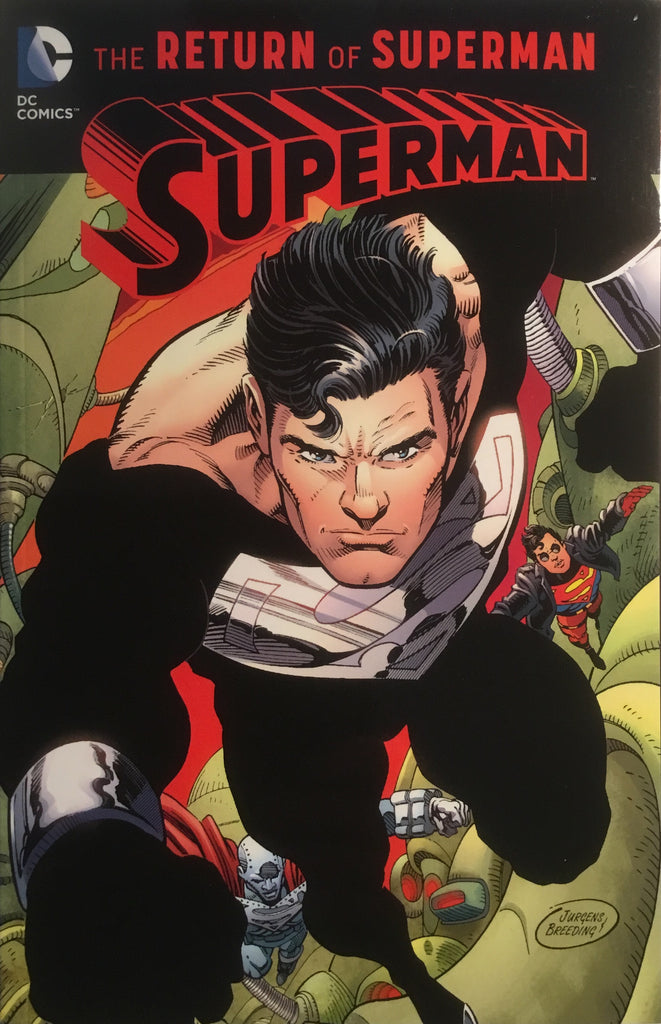 SUPERMAN THE RETURN OF SUPERMAN GRAPHIC NOVEL