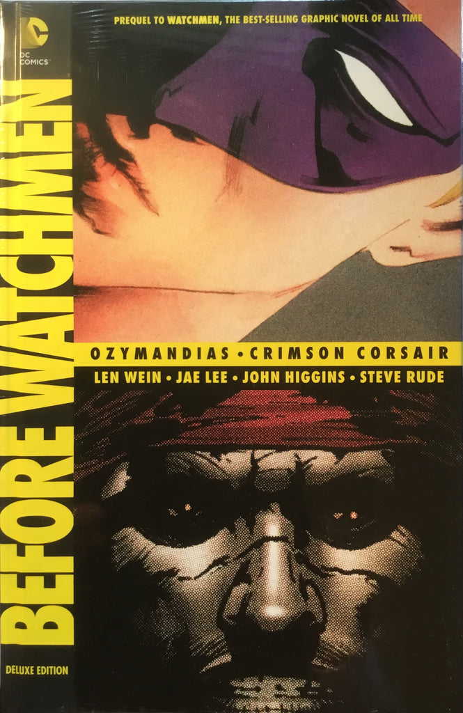 BEFORE WATCHMEN OZYMANDIAS / CRIMSON CORSAIR HARDCOVER GRAPHIC NOVEL - Comics 'R' Us