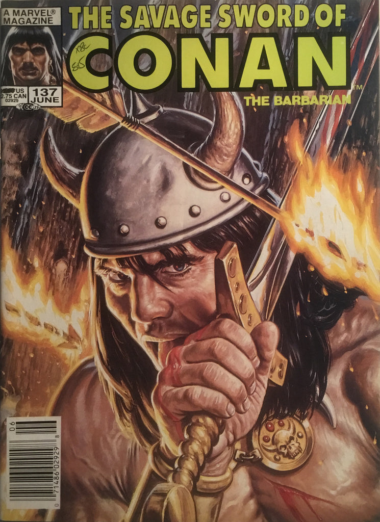 THE SAVAGE SWORD OF CONAN #137