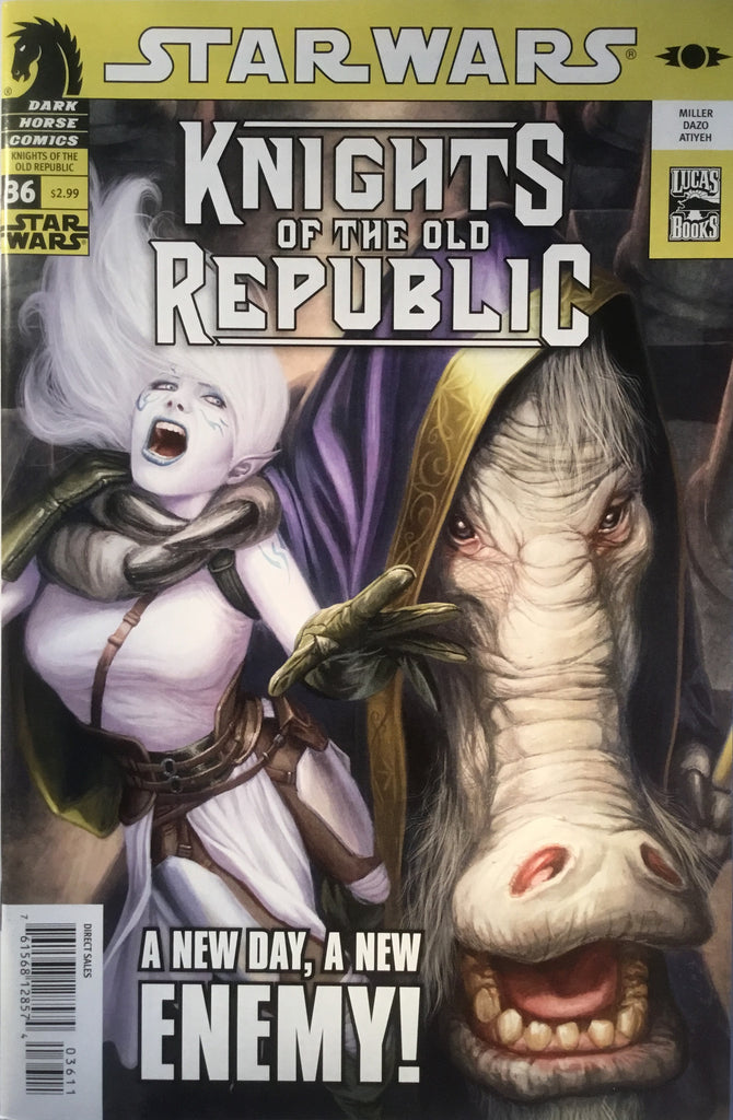 STAR WARS KNIGHTS OF THE OLD REPUBLIC # 36