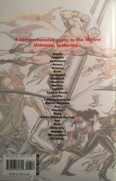 MARVEL ZOMBIES BOOK OF ANGELS, DEMONS & VARIOUS MONSTROSITIES